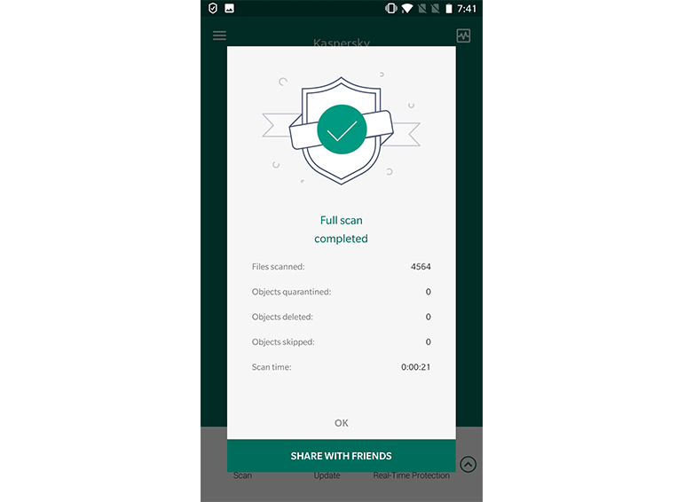 Kaspersky Internet Security for Android Web Protection