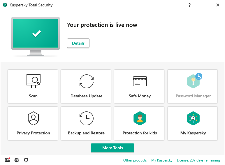 Kaspersky Total Security 2020 | PC, Mac & Android Protection ...