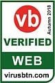 VBWeb Comparative Review - Autumn 2018: VBWeb verified