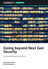 Going beyond Next Gen Security