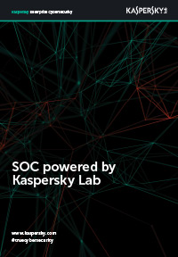 SOC powered by Kaspersky Lab