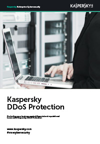 Protecting your business against financial and reputational losses with Kaspersky DDoS Protection