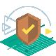 Protège contre la lecture non autorisée des cartes RFID/NFC.