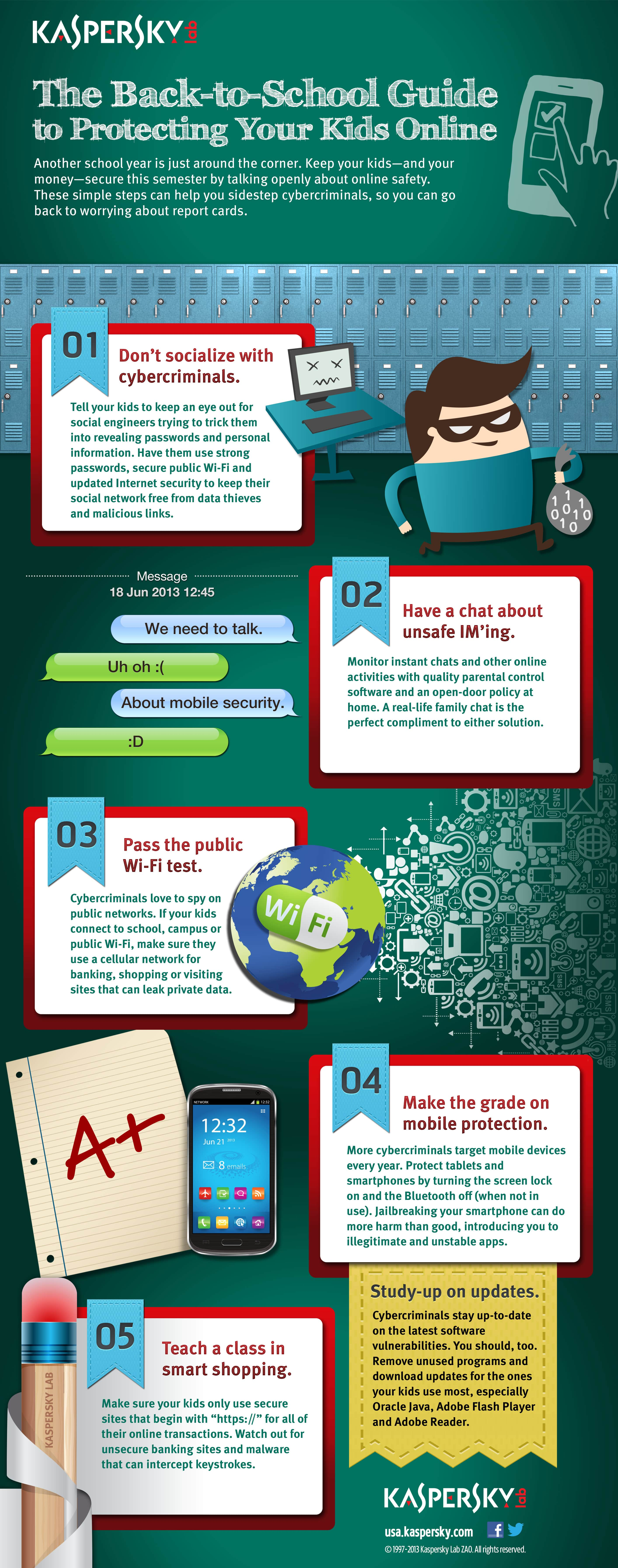 6 threats to the Internet: how to protect a child